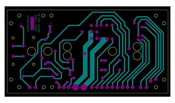Amplifier PCB layout