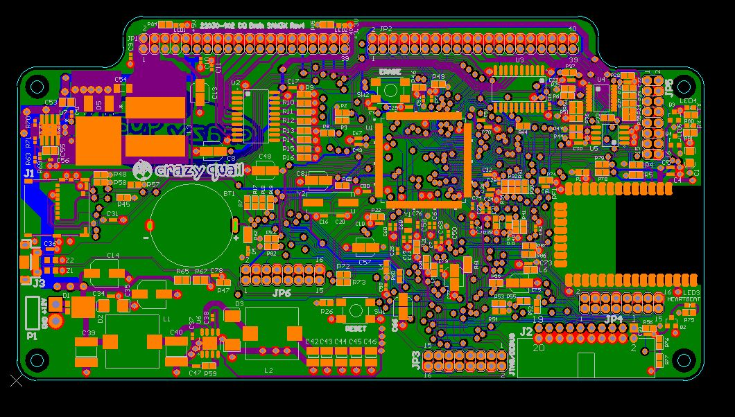 RF PCB design layout