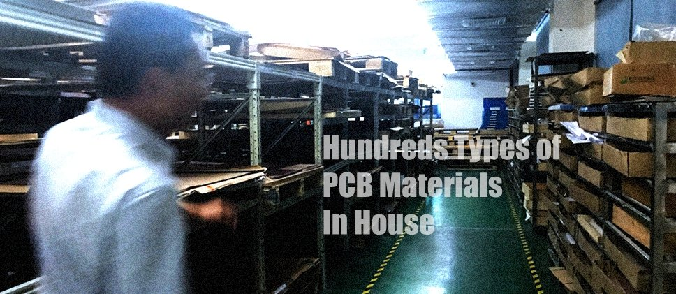 PCB Materials warehouse