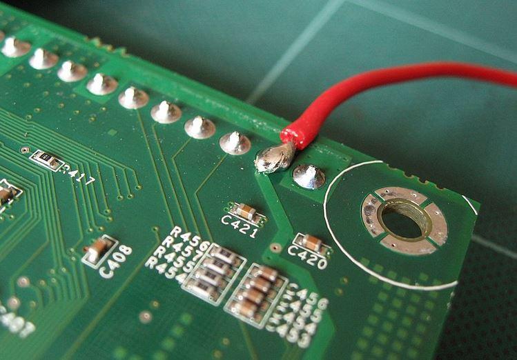 Green solder mask