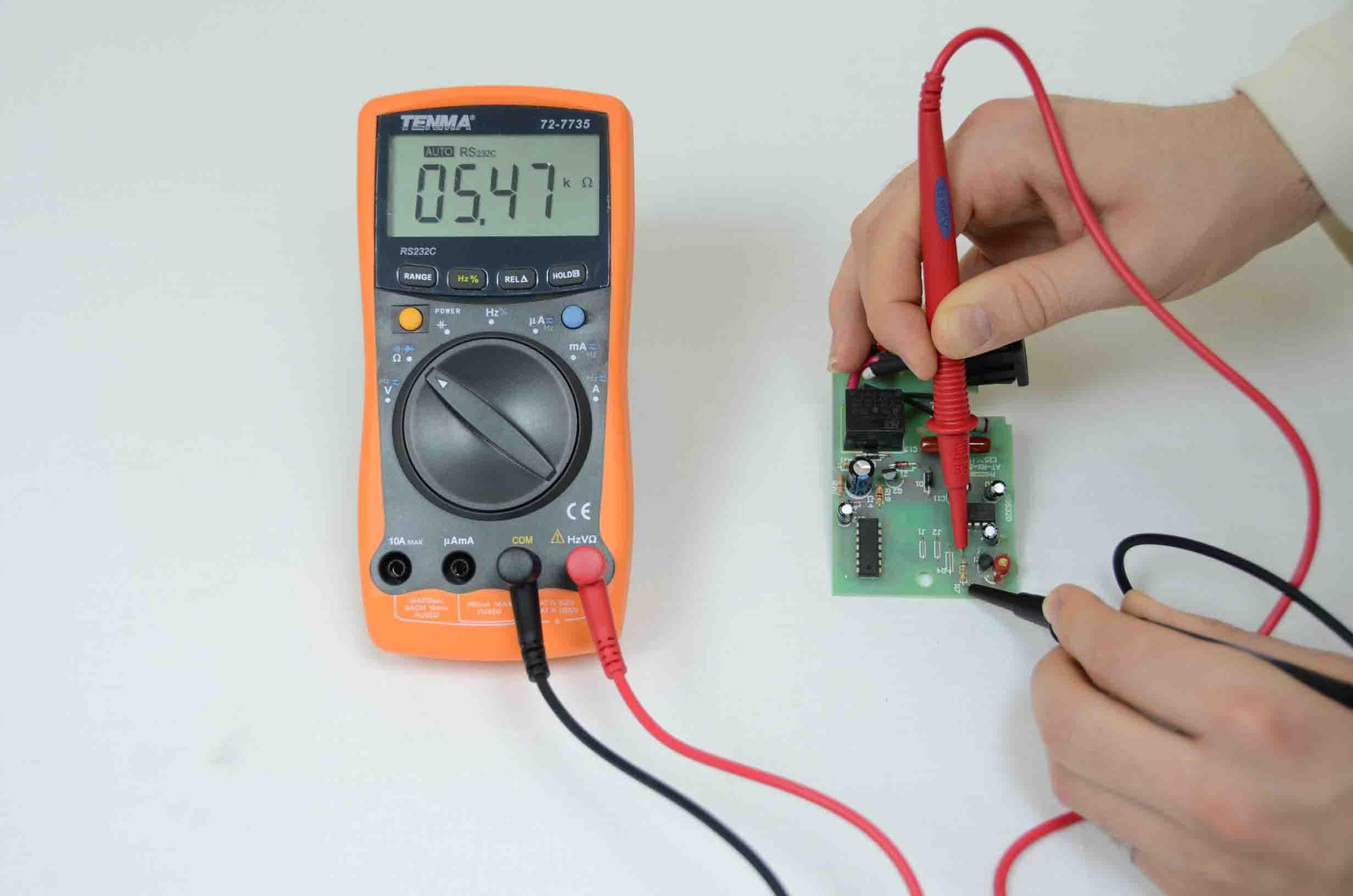 Testing PCB