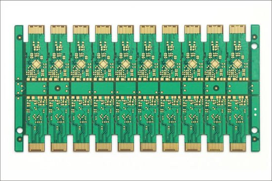 Series of gold finger PCB