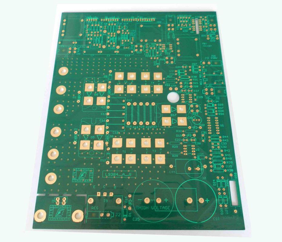 Printed circuit board holes