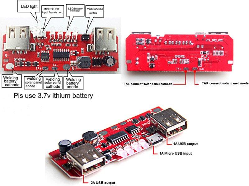 Solar power PCB