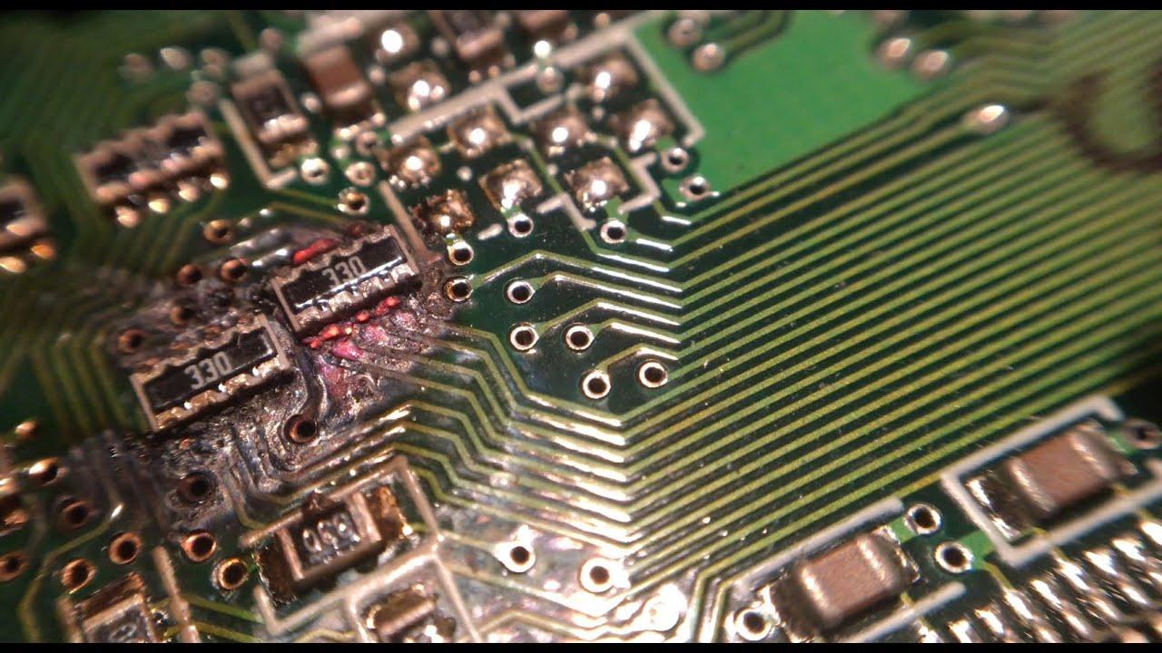 PCB melts
