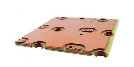 Heavy copper PCB with thick layer