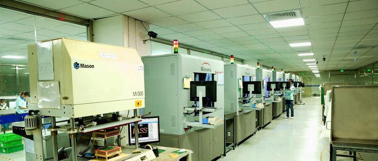 PCB testing lab