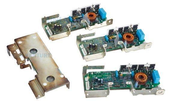 Fully assembled PCB