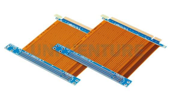Rigid flex PCB assembly