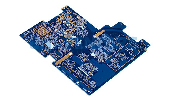 Embedded resistor printed circuit board