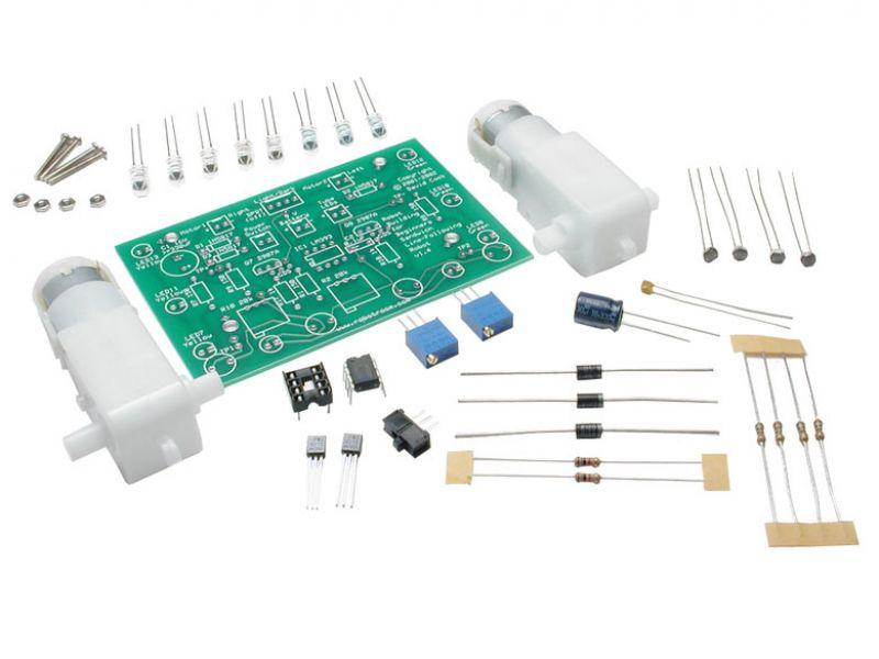 Sample PCB components