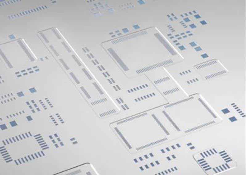 Frameless PCB Stencil