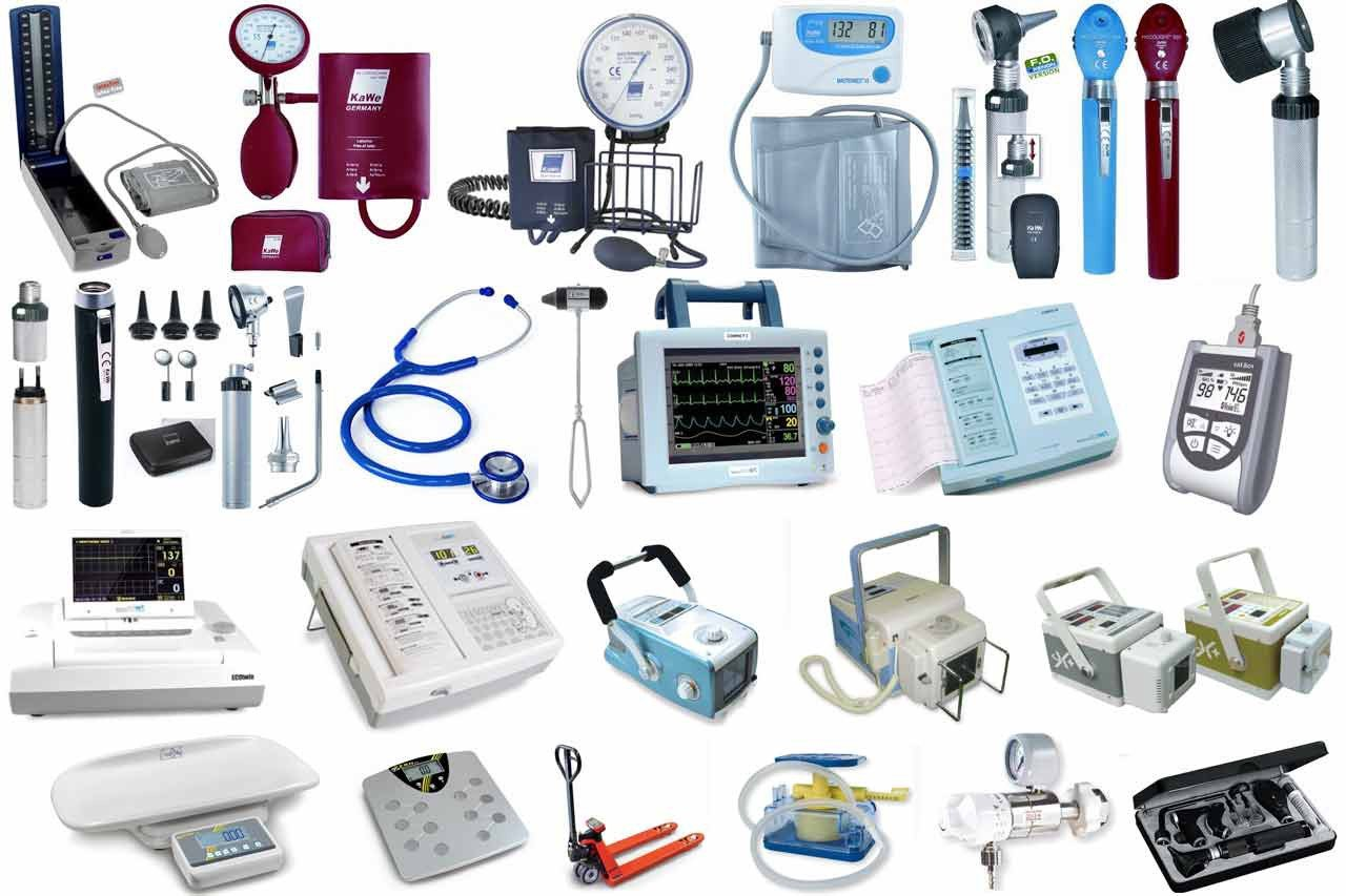 Electronic medical equipment