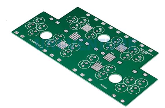 Drilled circuit board