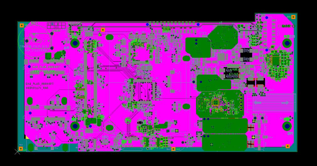 High speed PCB