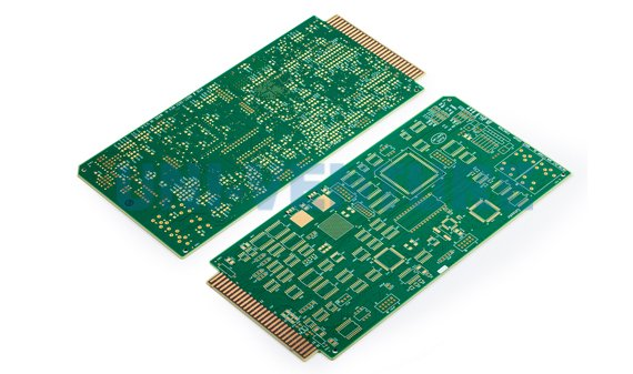 Gold finger PCB for aerospace industry