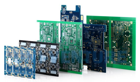 Commercial PCB prototypes
