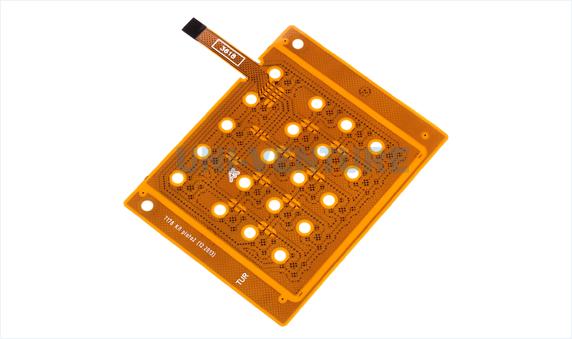 Flex PCB assembly