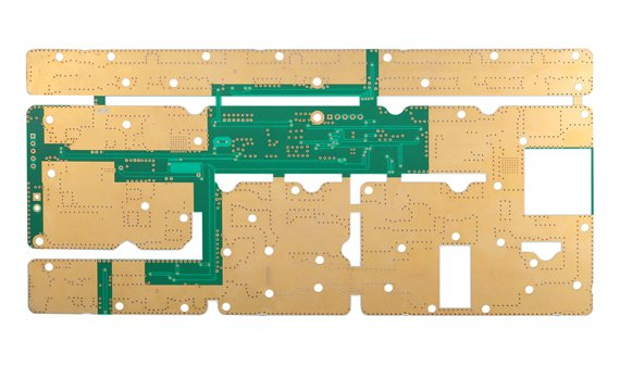 Section of high frequency PCB