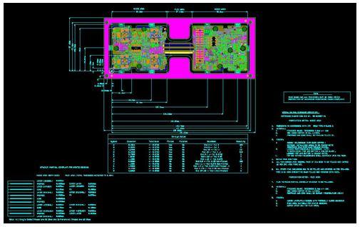 Rigid flex PCB board design