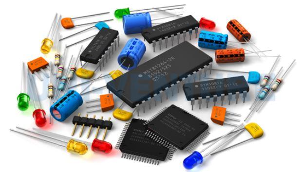 Multi layer PCB Components