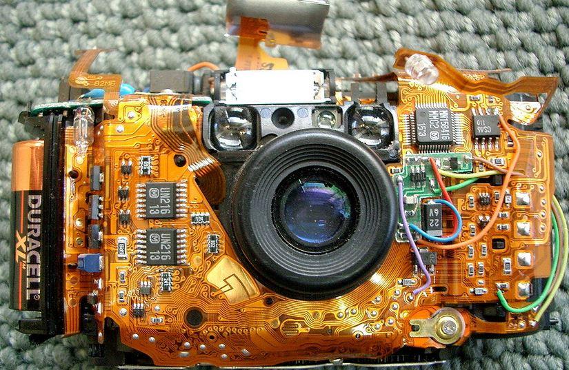 Olympus camera circuit
