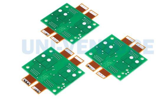 Rigid flex printed circuit board