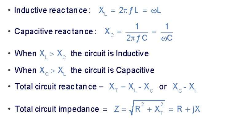Impedance calculation