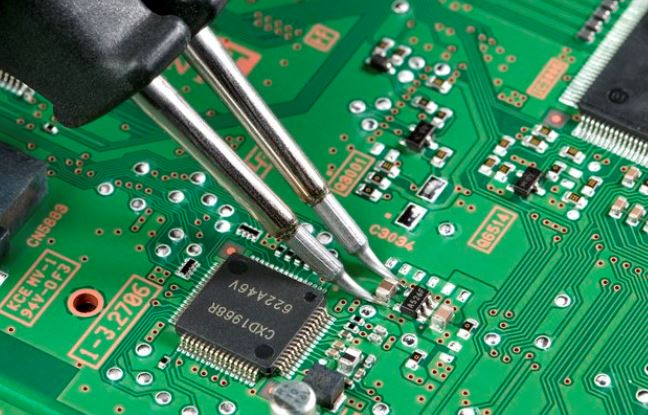 IC component mounting