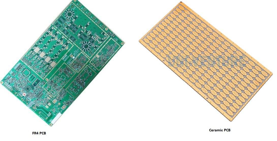 FR4 PCB Vs Ceramic PCB