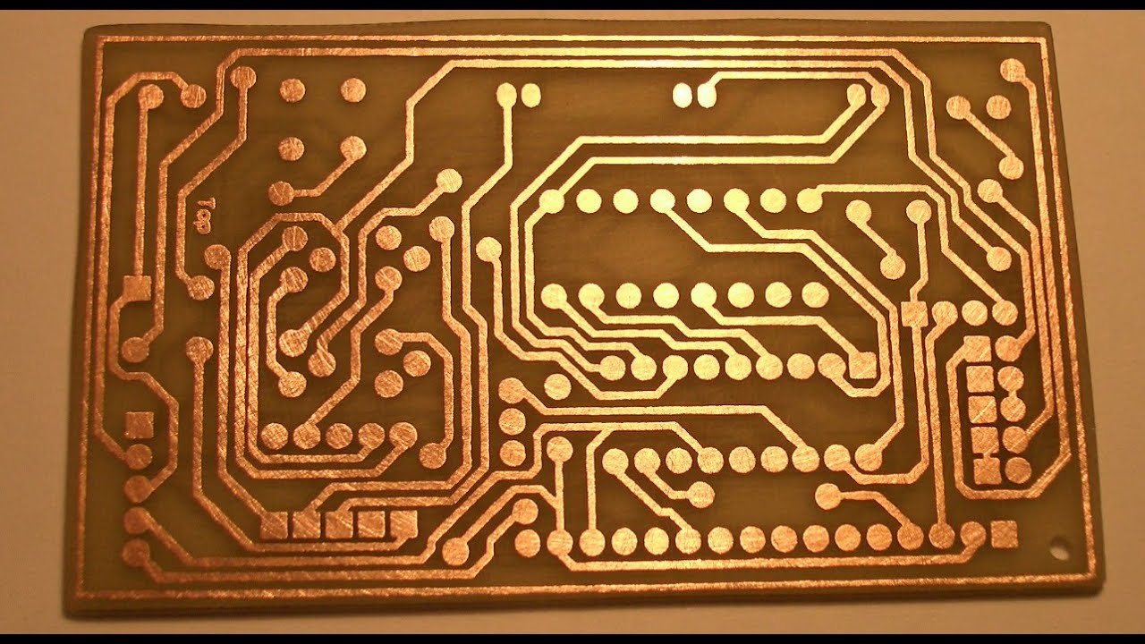 Copper printed on PCB