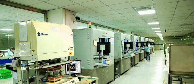 Testing lab for PCB