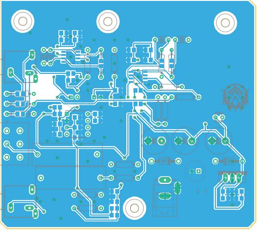 Operational amplifier PCB layout