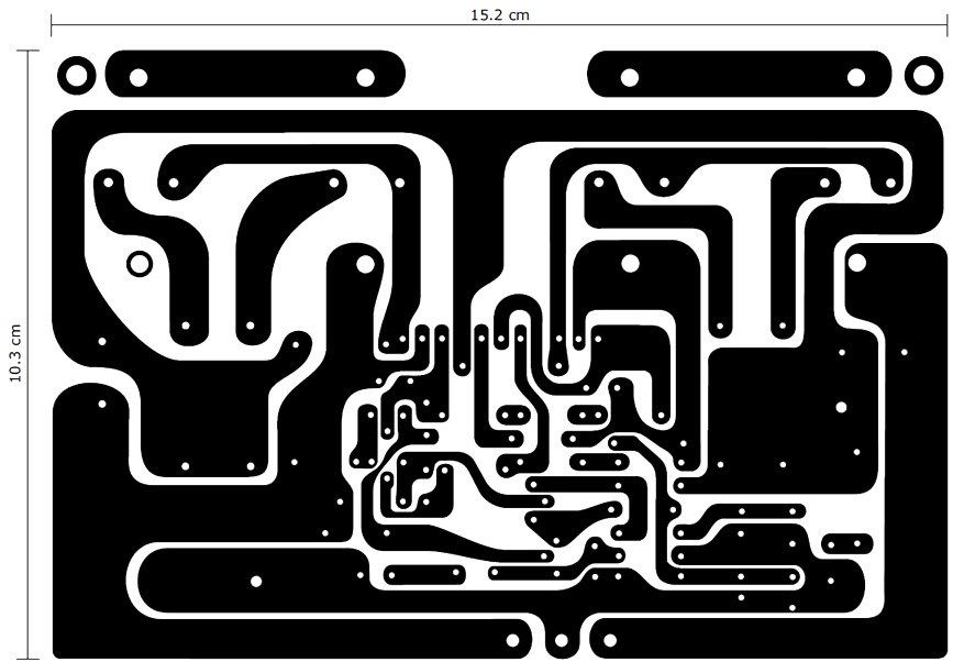 Power amplifier PCB layout