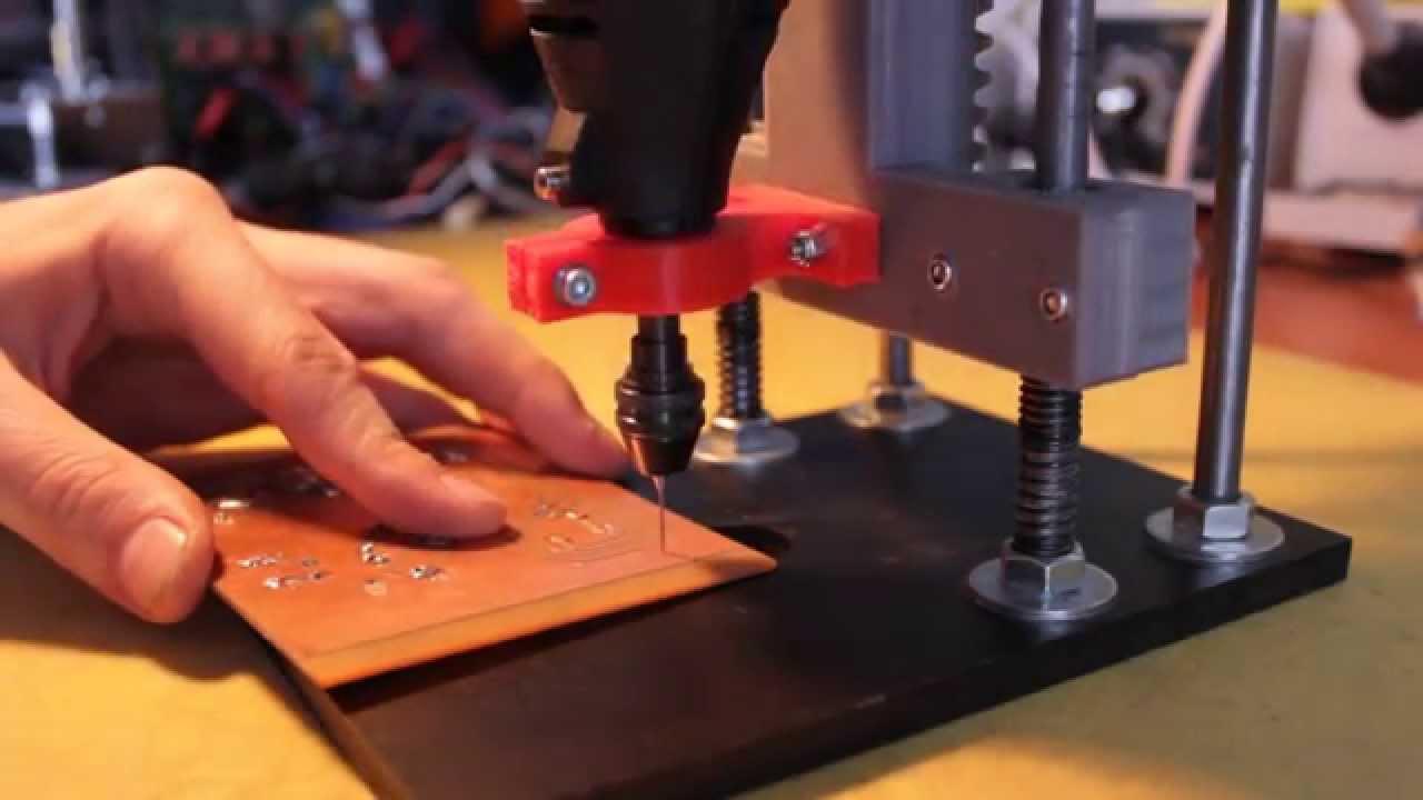 Drilling PCB